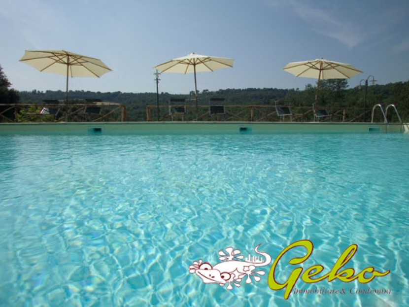 For Sale Houses in countryside San Gimignano - 135 SM FLAT  with pool and garden Locality
