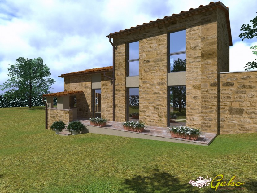 For Sale Houses in countryside Poggibonsi - Barn in countryside of new building Locality