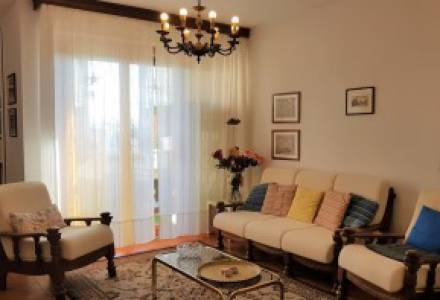 Near the center Apartment 112 sqm three bedrooms and garage
